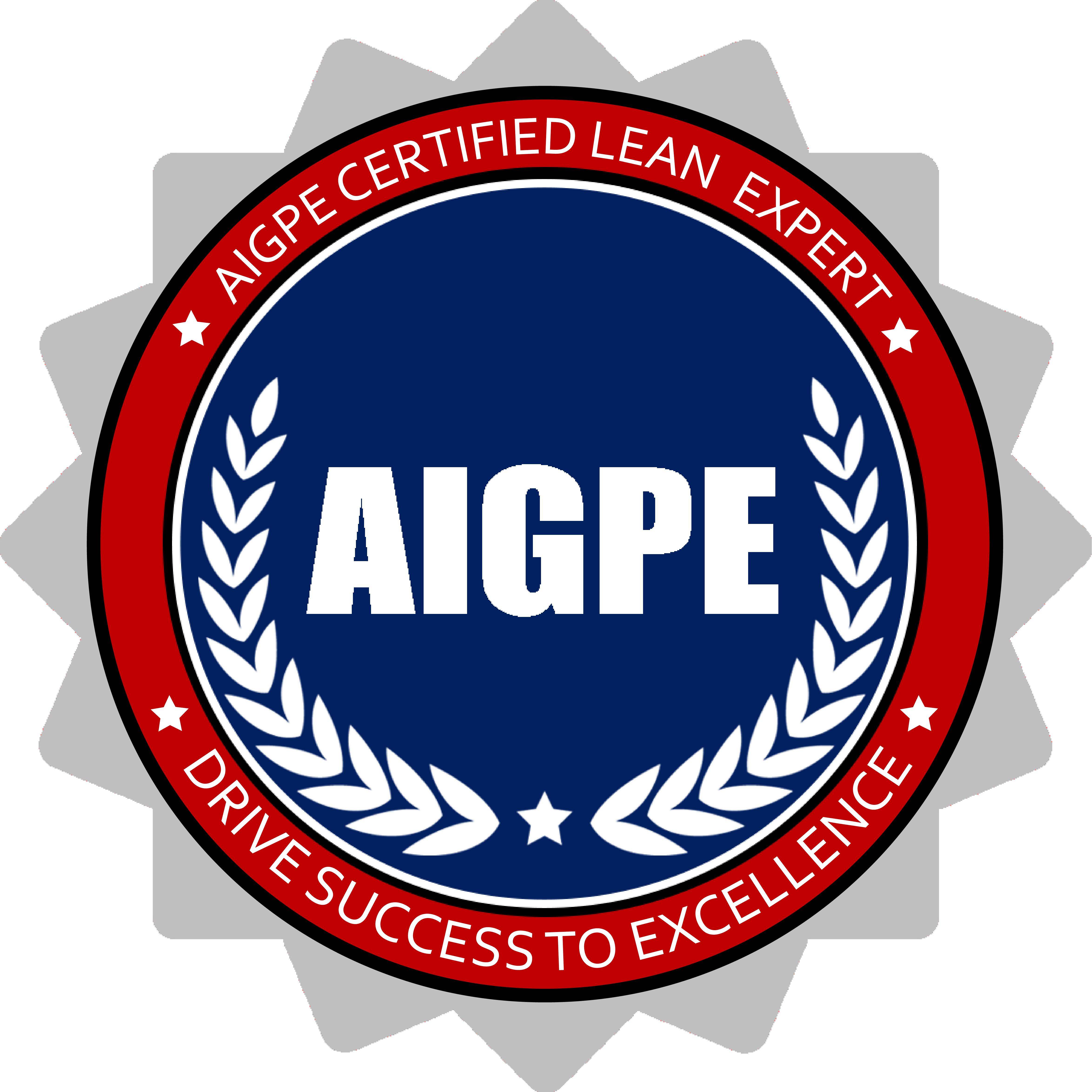 AIGPE Lean Expert Digital Badge