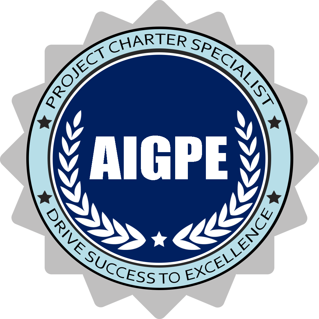 AIGPE Project Charter Specialist Digital Badge